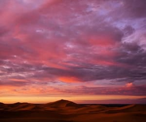 beautiful, clouds, and desert image