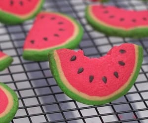 Cookies, delicious, and watermelon image