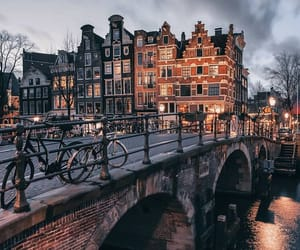 amsterdam, city, and travel image