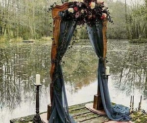 arch, beauty, and candle image