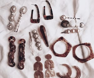 earrings, hair clips, and jewelry image