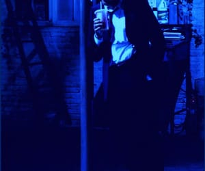 movies, blue glow, and reservoir dogs image