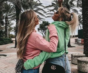 aesthetic, best friends, and bff image