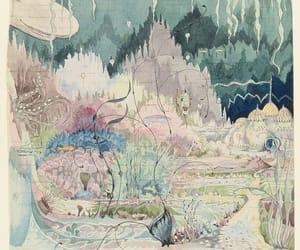 art, illustration, and j.r.r. tolkien image