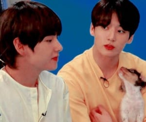 puppy, bts, and jeon jungkook image