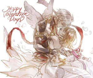 angel, couple, and lucifer image