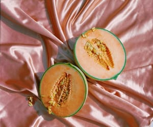 cantaloupe, citrus, and food image