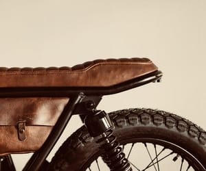 bike, brown, and captain america image