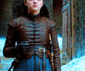 gif, arya stark, and a song of ice and fire image