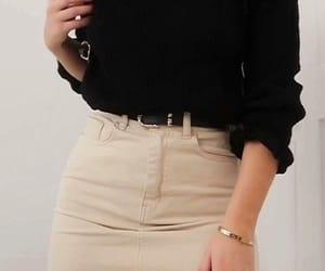 belt, bracelet, and classy image