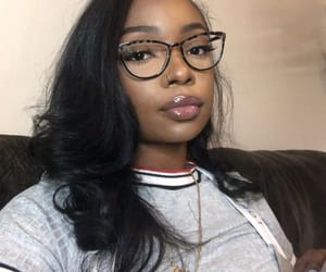 glasses, hair makeup, and instagram models image