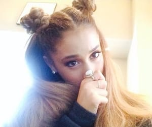 article, hairstyle, and ariana image