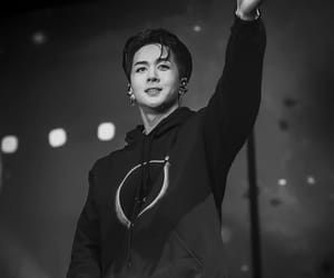 aesthetic, black and white, and ken image