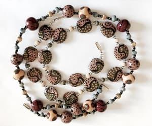etsy, vintage jewellry, and tribal pendant image