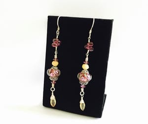 etsy, swarovski crystals, and pierced earrings image
