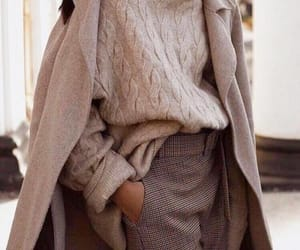 chic, sweaters, and woman image