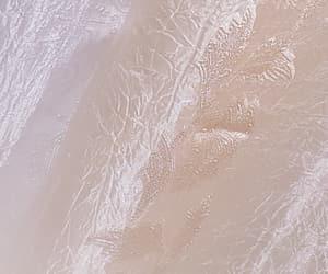 cream, curtain, and white image