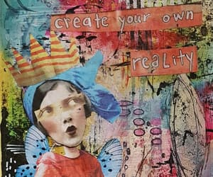 art journal, Collage, and creative image