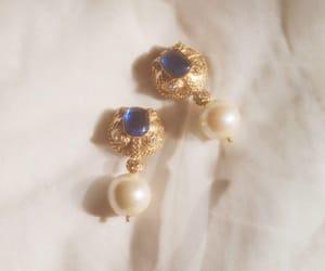earrings, soft, and blue diamond image