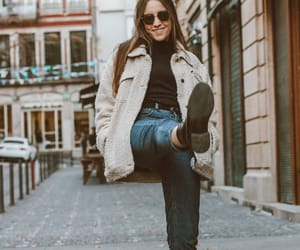 combat boots, outfit, and street style image