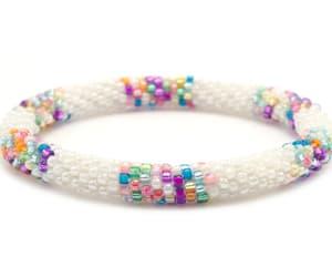 bracelet, handmade, and jewelry image