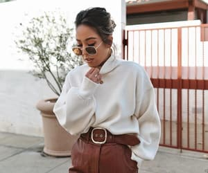 belt, chic, and fashion image