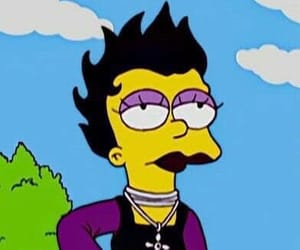 goth and the simpsons image
