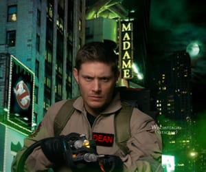 dean winchester, Jensen Ackles, and Ghostbusters image