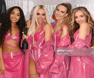 girls, pink, and little mix image