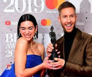 awards, calvin harris, and brits image