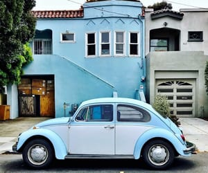 blue, cars, and pastel image