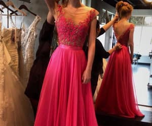 prom dress, prom dress long, and prom dress chiffon image