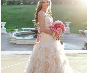 vintage wedding dress, ball gown wedding dress, and wedding dress image