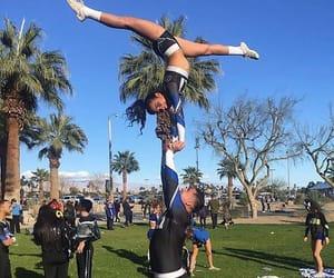 allstar, cheerleader, and stunts image