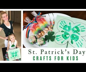 four leaf clover, lucky charms, and kids crafts image