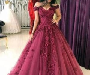 a-line evening dress and prom dresses long image