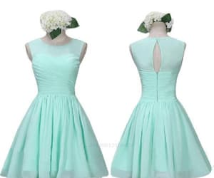 chiffon prom dresses, prom dresses for cheap, and short prom dresses image