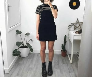 clothes, overalls, and trendy fashion image