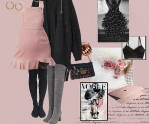 art, fashion, and baby doll image