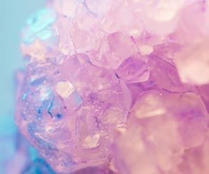aesthetic, crystals, and pink image