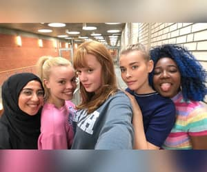 girls, skam, and squad image