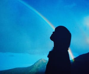 aesthetic, rainbow, and tumblr image