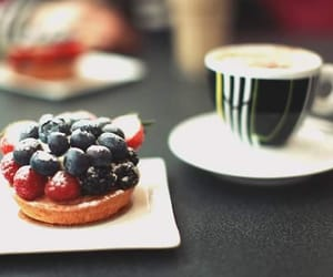 coffee and tart image