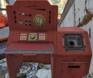 disrepair, red, and fallout image