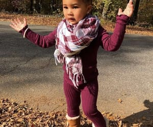 baby, maroon, and uggs image