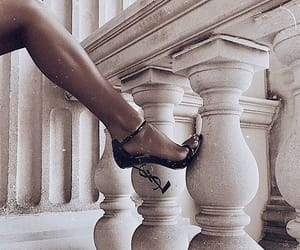 heels, YSL, and fashion image