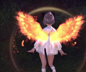 angel, neko, and anime image