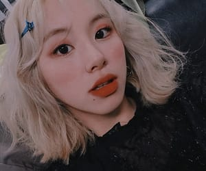 aesthetic, korean, and chaeyoung image