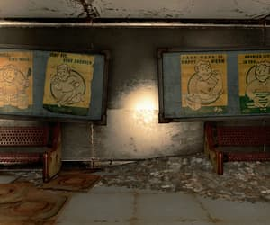 abandoned, posters, and fallout image