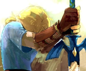 Legend of Zelda, the legend of zelda, and breath of the wild image